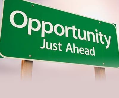 Opportunity Just Ahead