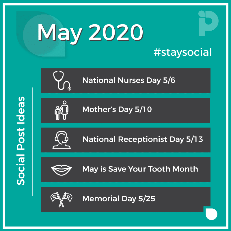 May 2020 stay social Pro Impressions Marketing