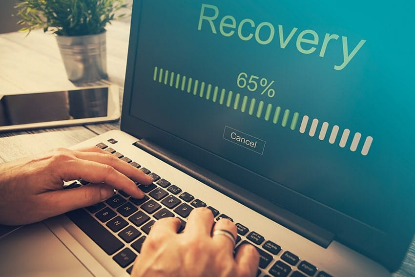 laptop loading recovery
