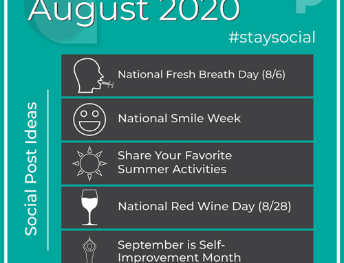 How to #StaySocial in August