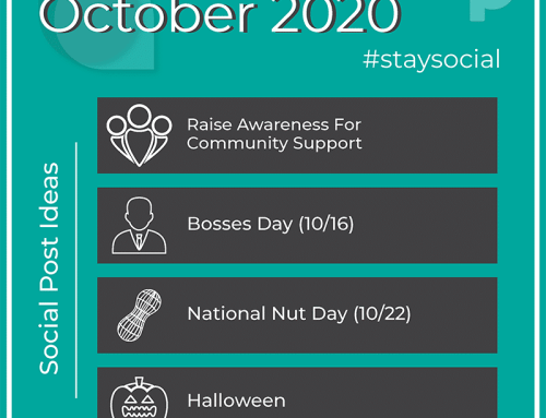 How to #StaySocial in October