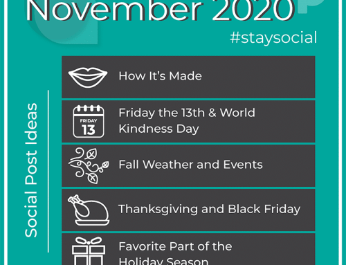 How to #StaySocial in November