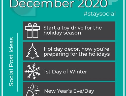 How To Stay Social in December