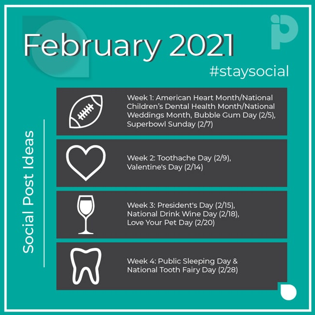 Pro Impressions February Stay Social 2021