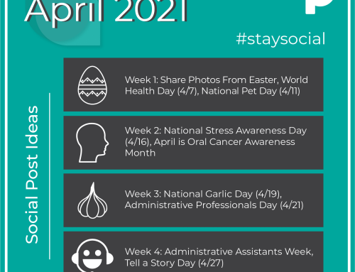 How to #StaySocial in April 2021